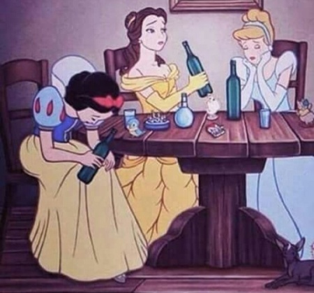 beauty-and-the-beast-cinderella-disney-drinking-Favim.com-3523229-1