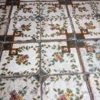 Fantastiska golv, här i kyrkan i Anacapri.